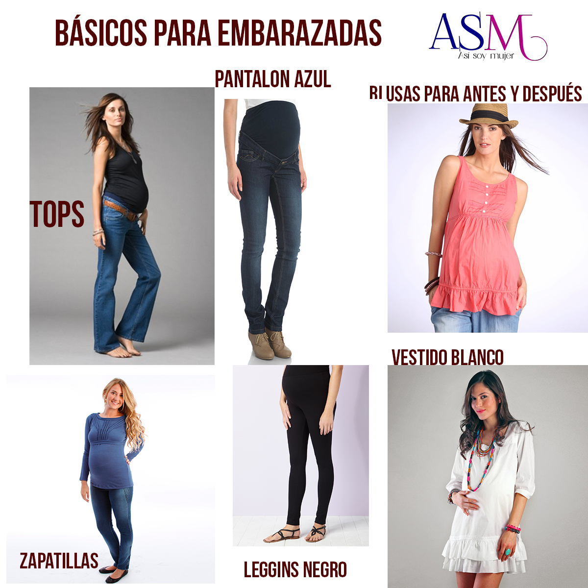 722b7636e Repercusiones de la ropa ajustada en el embarazo - Asi Soy Mujer ...