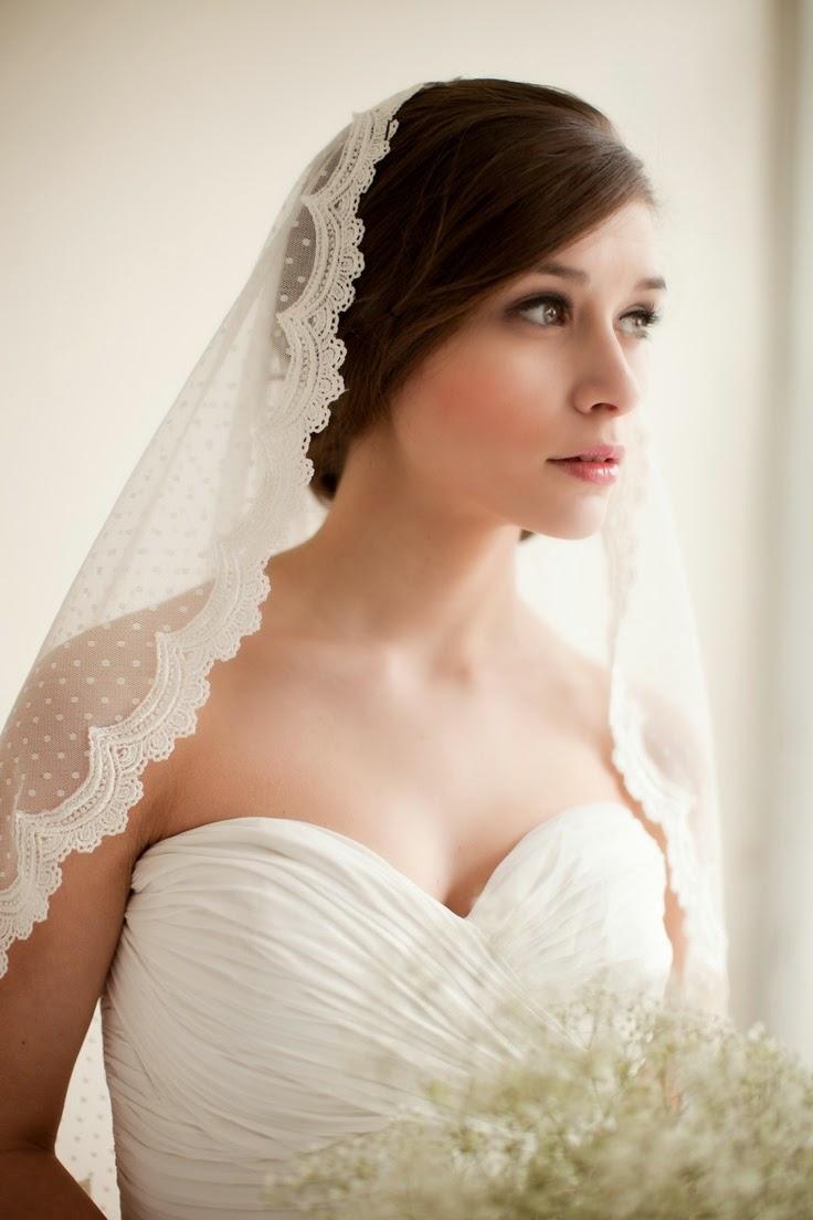 El estilo de velo ideal para tu vestido de novia - Asi Soy Mujer ...