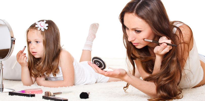 maquillaje para mamás