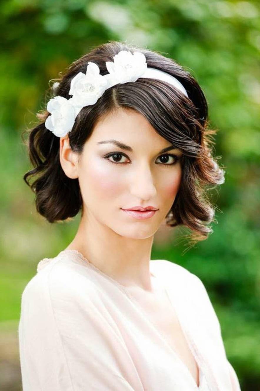 Peinados para boda pelo corto 2015