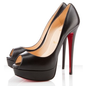 Christian-Louboutin-Lady-Peep-Toe-150mm-Pumps-Black-Red-Sole-Shoes-1175