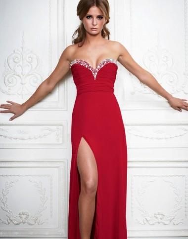 Vestido Rojo Para Un Matrimonio