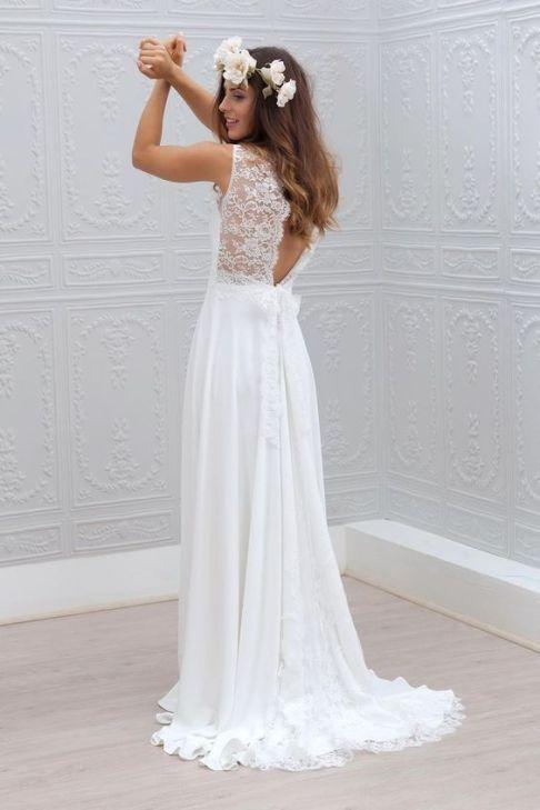 aciertos y desaciertos en vestido de novia para bodas en la playa