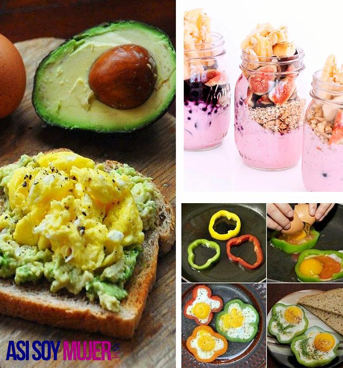 Opciones De Desayuno Para Empezar A Comer Saludable Desde Mañana