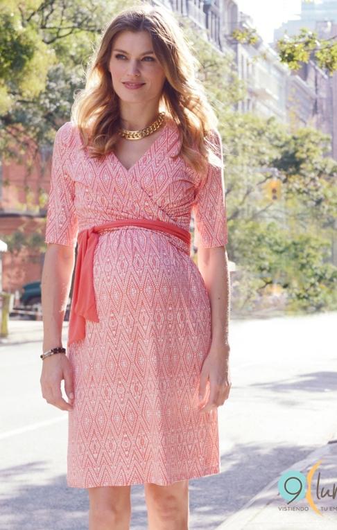 fcc0cf902 10 tipos de vestidos para usar en tu baby shower - Asi Soy Mujer ...